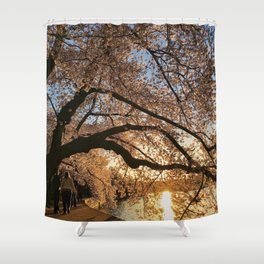 Cherry Blossoms at the Tidal Basin Shower Curtain