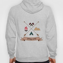 Camping Spring Camp adventure design Hoody