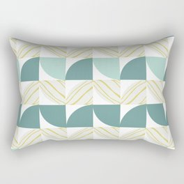 Vintage 60s geometry pattern 11 Rectangular Pillow