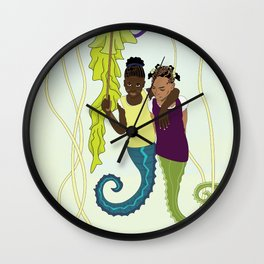 Aflan and Chaz Wall Clock