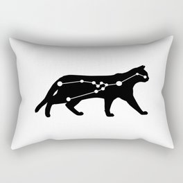 taurus cat Rectangular Pillow