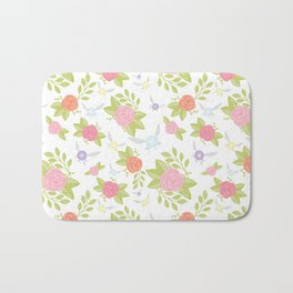 Garden of Fairies Pattern Bath Mat