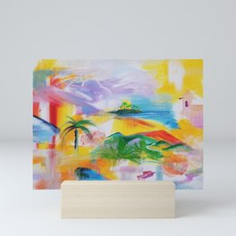 Dreaming of Puerto Rico Mini Art Print
