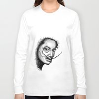 dali Long Sleeve T-shirts featuring Dali by Robin Ewers