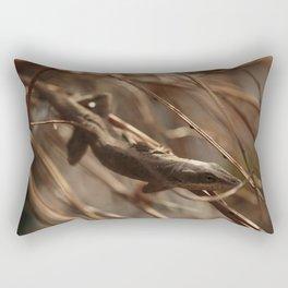 Relaxing Anole Rectangular Pillow