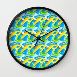 3D Pattern_02 Wall Clock