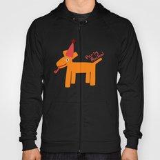 Party Animal-Orange Hoody