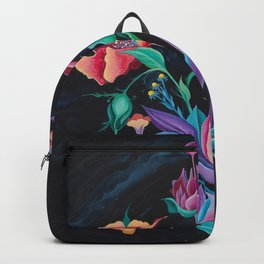 Electric Flowers Backpack