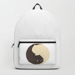 Hidden cat 9 Yin Yang kitty Backpack