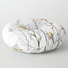 Flowers 4 Floor Pillow