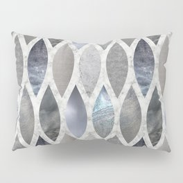 Metallic Armour Pillow Sham