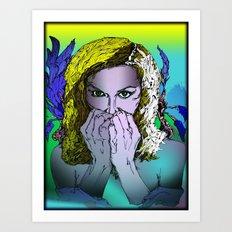Undamaged Art Print