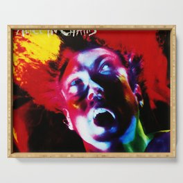 alice in chains facelift 2021 Serving Tray