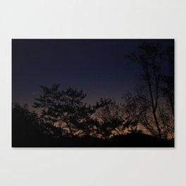 Moonrise No. 1  Canvas Print