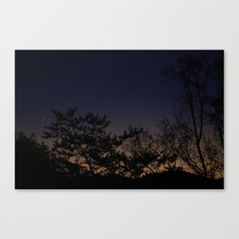 Moonrise No. 1  Canvas Print