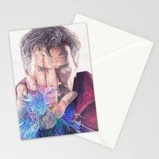 Dr Strange Pen Drawing Stationery Cards