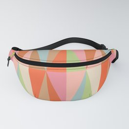 Abstraction_TRIANGLE_VISUAL_PATTERN_ART_001A Fanny Pack