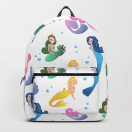 Mermaids Beauties Of The Sea Backpack