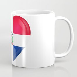 Dominican Love - Merengue - Platano - Dominican Republic - DR - The DR - S.O.T.B. On IG Coffee Mug