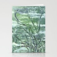 grass Stationery Cards featuring GRASS by AMULET