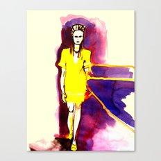 Models Ink Canvas Print