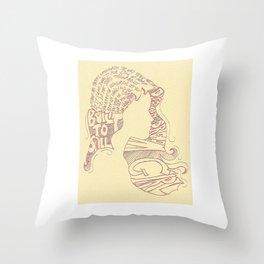 Distopian Dream Girl-Built To Spill Throw Pillow