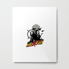 Threat Level Midnight Metal Print