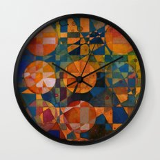 Her 12 Moons Wall Clock