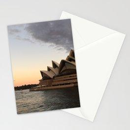 Opera House Sunset Stationery Cards