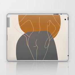 Line Female Figure 82 Laptop & iPad Skin