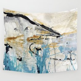 Sea view from Golden-Cap, Dorset Wall Tapestry