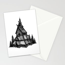 Borgund Stave Church Stationery Cards