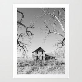 Abandoned: South Dakota 9839 Art Print