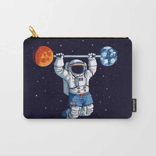Space Gym  Carry-All Pouch