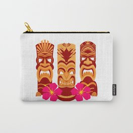 Tiki Statues Set Carry-All Pouch