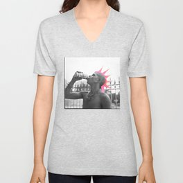 All the Young Dudes Unisex V-Neck
