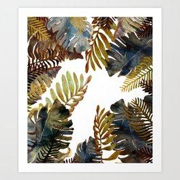 Wet tropical Art Print