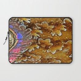 Opalized Sutured Ammonite Laptop Sleeve