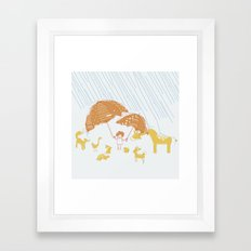 Room For Everyone Framed Art Print