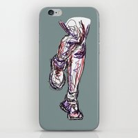 run iPhone & iPod Skins featuring Run by Ursula Rodgers