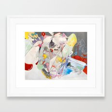 SPELL: REFLECT Framed Art Print