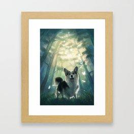 My real fantasy world Framed Art Print