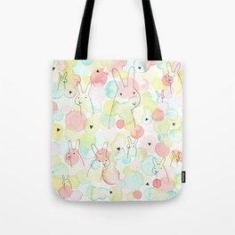 50 Shades Of Bunny Tote Bag