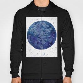 "Full moon in blue ""Once in a blue moon"" Hoody"