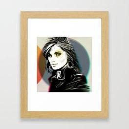 ES, colour Framed Art Print