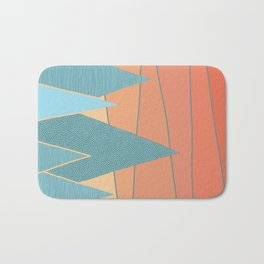 Sunset II Bath Mat