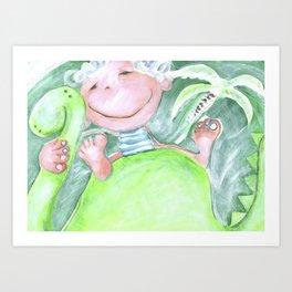 Dillon's Dino Art Print