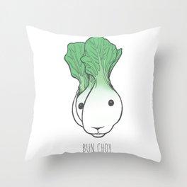Bun Choy Throw Pillow