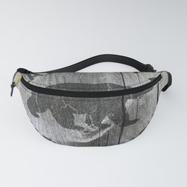 Great Smoky Mountains National Park Vintage Wood Sign Fanny Pack