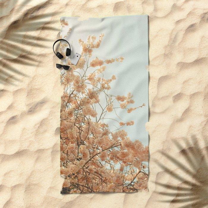 Spring is Here Beach Towel